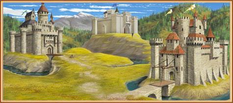 замки в Арене