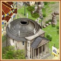 здание пантерона богов на острове