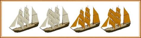 виды кораблей: Баркас