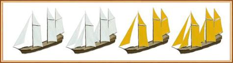 виды кораблей: Шхуна