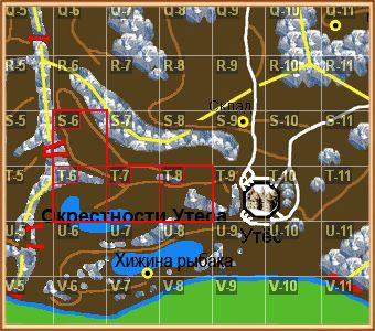 карта с ботами apeha