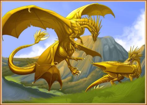 Металические драконы
