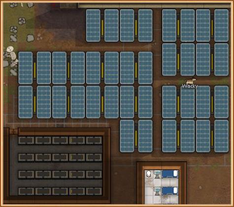 электрические генераторы по rimworld гайду