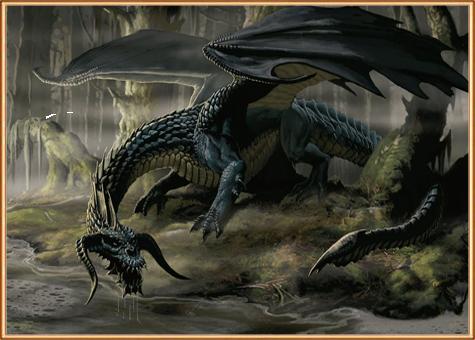 кто за такой черный дракон?