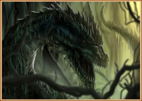 сила черного дракона