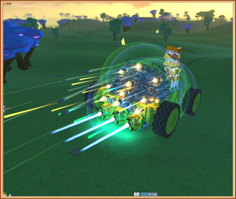 боевая машина в Terra Tech