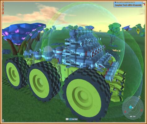 строительство боевой машины в Terra Tech